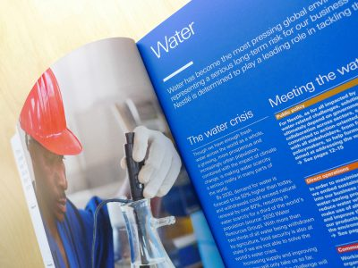 Image de Creating Shared Value Summary Report 2011, Water