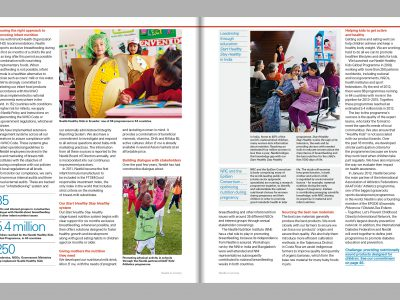 Image de Nestlé in society 2012 – Creating Shared Value and meeting our commitments