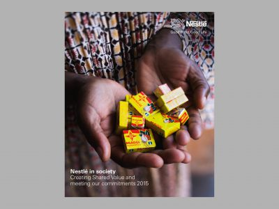 Image de Nestlé in society 2015 – Creating Shared Value and meeting our commitments