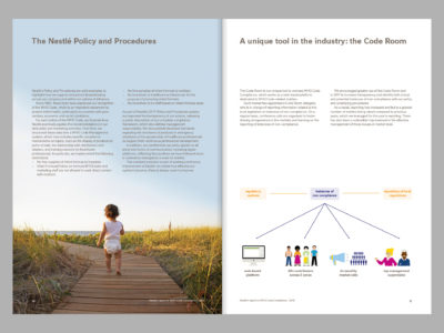 Image de Leading the way: Responsible Marketing of Breast Milk Substitutes, 2018 Report