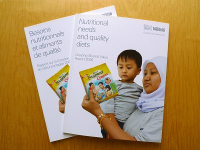 Image de Creating Shared Value Report 2008, Nutrition