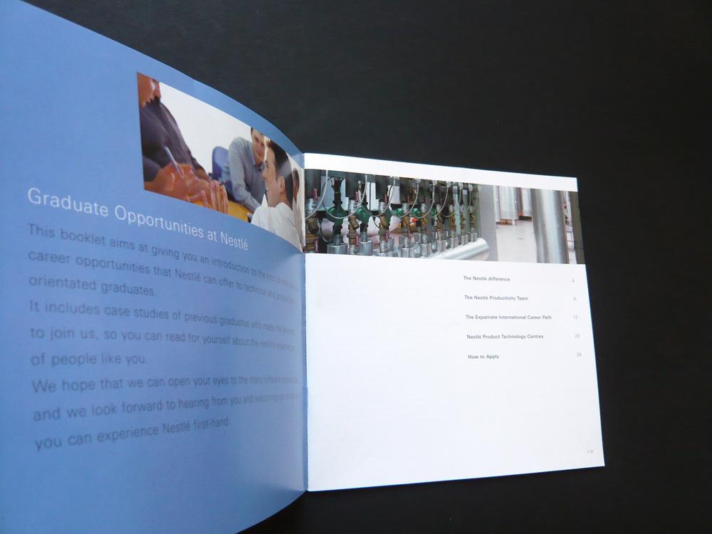 recruitment brochures imagine nestlé