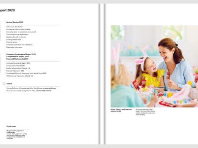 Image de Wrapper for the annual report 2020