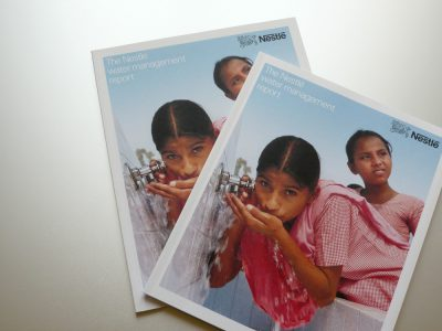 Image de The Nestlé water management report 2006