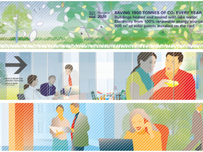 """Image de Nestlé """"Bergère 2020"""" – palisades"""